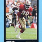 1993 Pinnacle Football #334 Dana Hall - San Francisco 49ers