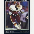 1993 Pinnacle Football #311 Ricky Ervins - Washington Redskins ExMt