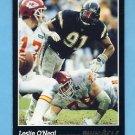 1993 Pinnacle Football #291 Leslie O'Neal - San Diego Chargers