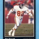1993 Pinnacle Football #263 Tim Barnett - Kansas City Chiefs