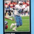 1993 Pinnacle Football #218 Lorenzo White - Houston Oilers