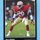 1993 Pinnacle Football #215 Don Griffin - San Francisco 49ers