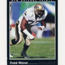 1993 Pinnacle Football #185 Frank Warren - New Orleans Saints ExMt