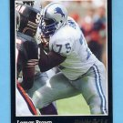 1993 Pinnacle Football #175 Lomas Brown - Detroit Lions