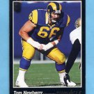 1993 Pinnacle Football #129 Tom Newberry - Los Angeles Rams