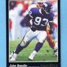 1993 Pinnacle Football #113 John Randle - Minnesota Vikings