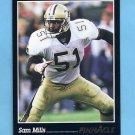 1993 Pinnacle Football #093 Sam Mills - New Orleans Saints