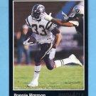 1993 Pinnacle Football #087 Ronnie Harmon - San Diego Chargers