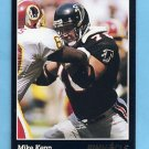 1993 Pinnacle Football #076 Mike Kenn - Atlanta Falcons
