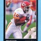 1993 Pinnacle Football #044 Albert Lewis - Kansas City Chiefs ExMt