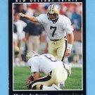 1993 Pinnacle Football #005 Morten Andersen - New Orleans Saints