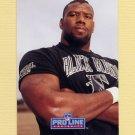 1991 Pro Line Portraits Football #285 Darion Conner - Atlanta Falcons