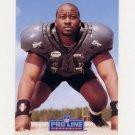 1991 Pro Line Portraits Football #276 Chris Hinton - Atlanta Falcons Ex