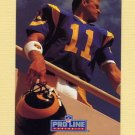 1991 Pro Line Portraits Football #259 Jim Everett - Los Angeles Rams