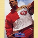 1991 Pro Line Portraits Football #223 Brent Jones - San Francisco 49ers