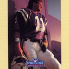1991 Pro Line Portraits Football #195 Jeff George - Atlanta Falcons
