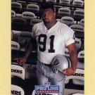 1992 Pro Line Portraits Football #440 Chester McGlockton RC - Los Angeles Raiders