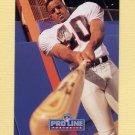 1992 Pro Line Portraits Football #427 Brian Jordan - Atlanta Falcons