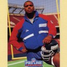 1992 Pro Line Portraits Football #415 Eric Moore - New York Giants