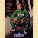 1992 Pro Line Portraits Football #376 Jim Sweeney - New York Jets