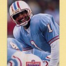 1992 Pro Line Profiles Football #448 Warren Moon - Houston Oilers