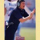 1992 Pro Line Profiles Football #264 Jerry Glanville CO - Atlanta Falcons