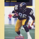 1992 Pro Line Profiles Football #253 Eric Green - Pittsburgh Steelers