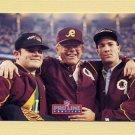 1992 Pro Line Profiles Football #130 Joe Gibbs CO - Washington Redskins