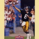 1992 Pro Line Profiles Football #098 Bubby Brister - Pittsburgh Steelers