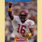 1992 Pro Line Profiles Football #010 Rodney Peete - Detroit Lions