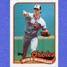 1989 Topps Baseball #788 Mike Morgan - Baltimore Orioles