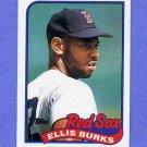 1989 Topps Baseball #785 Ellis Burks - Boston Red Sox NM-M