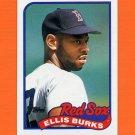 1989 Topps Baseball #785 Ellis Burks - Boston Red Sox ExMt