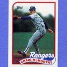 1989 Topps Baseball #779 Craig McMurtry - Texas Rangers