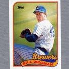 1989 Topps Baseball #768 Bill Wegman - Milwaukee Brewers Ex