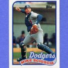 1989 Topps Baseball #755 Mike Scioscia - Los Angeles Dodgers