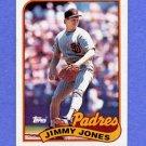 1989 Topps Baseball #748 Jimmy Jones - San Diego Padres