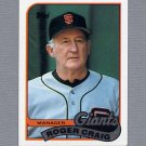 1989 Topps Baseball #744 Roger Craig MG / San Francisco Giants Team Checklist ExMt