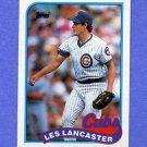 1989 Topps Baseball #694 Les Lancaster - Chicago Cubs