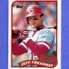 1989 Topps Baseball #685 Jeff Treadway - Cincinnati Reds NM-M