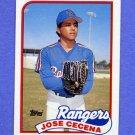 1989 Topps Baseball #683 Jose Cecena - Texas Rangers