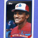 1989 Topps Baseball #674 Otis Nixon - Montreal Expos