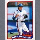 1989 Topps Baseball #655 Dave Magadan - New York Mets ExMt
