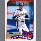 1989 Topps Baseball #655 Dave Magadan - New York Mets Ex