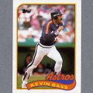 1989 Topps Baseball #646 Kevin Bass - Houston Astros ExMt