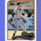 1989 Topps Baseball #628 Matt Williams - San Francisco Giants