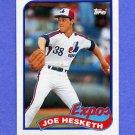 1989 Topps Baseball #614 Joe Hesketh - Montreal Expos