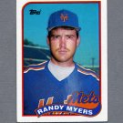 1989 Topps Baseball #610 Randy Myers - New York Mets Ex