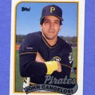 1989 Topps Baseball #592 John Cangelosi - Pittsburgh Pirates