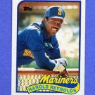 1989 Topps Baseball #580 Harold Reynolds - Seattle Mariners